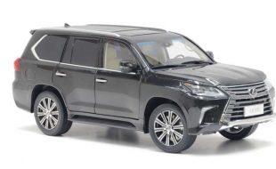 Kyosho  Lexus LX570: Lavishly detailed luxury Land Cruiser