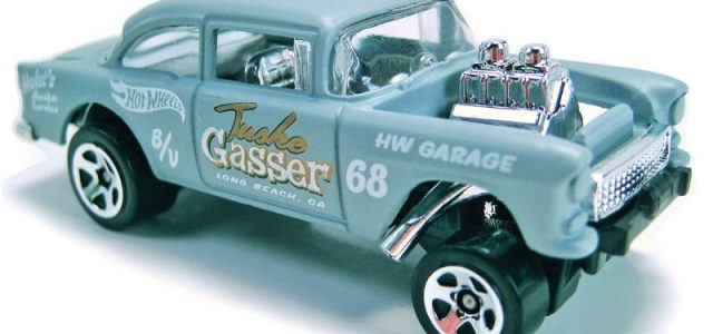 The '55 Chevy Gasser is not slowing down