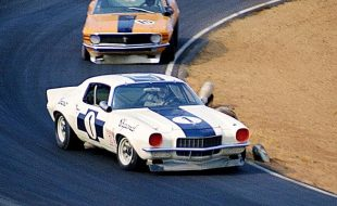 1970 Chaparral SCCA Trans-Am Camaro, irritatingly incomplete and badly photographed besides.  Hey – it's just a test